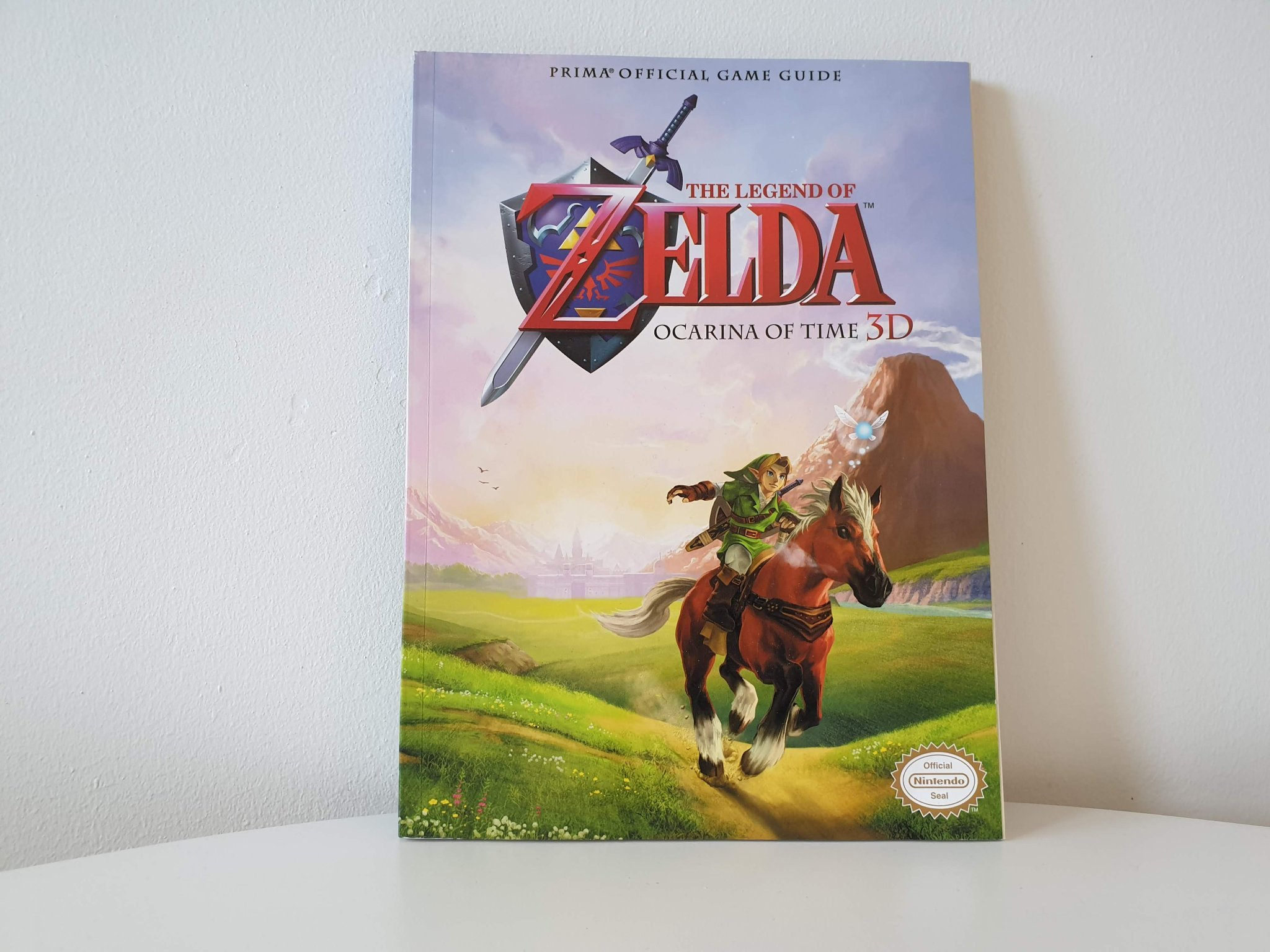 The Legend of Zelda: Ocarina of Time 3D: Prima Official Game Guide + Affisch