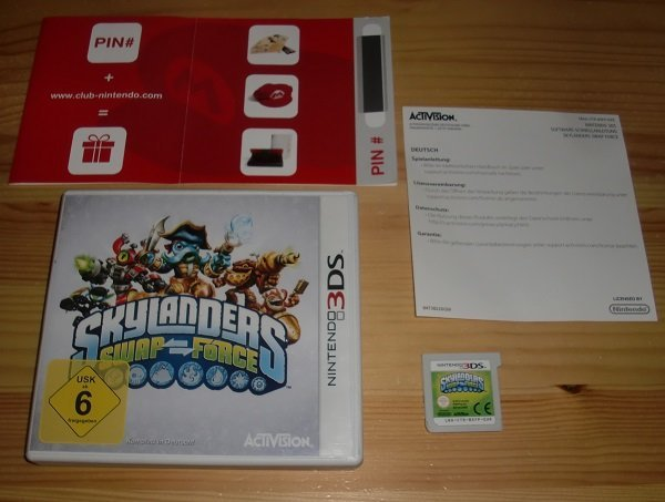 3DS: Skylanders Swap Force