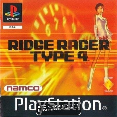 RIDGE RACER TYPE 4 (komplett) till Sony Playstation, PS1