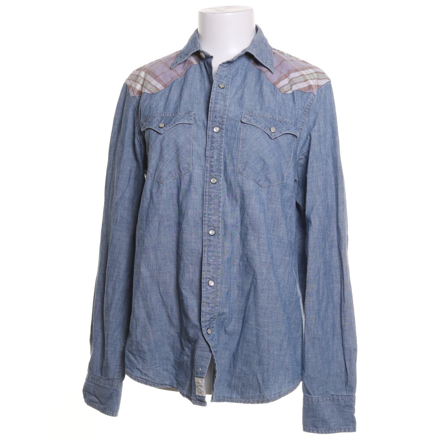 ralph lauren jeansskjorta