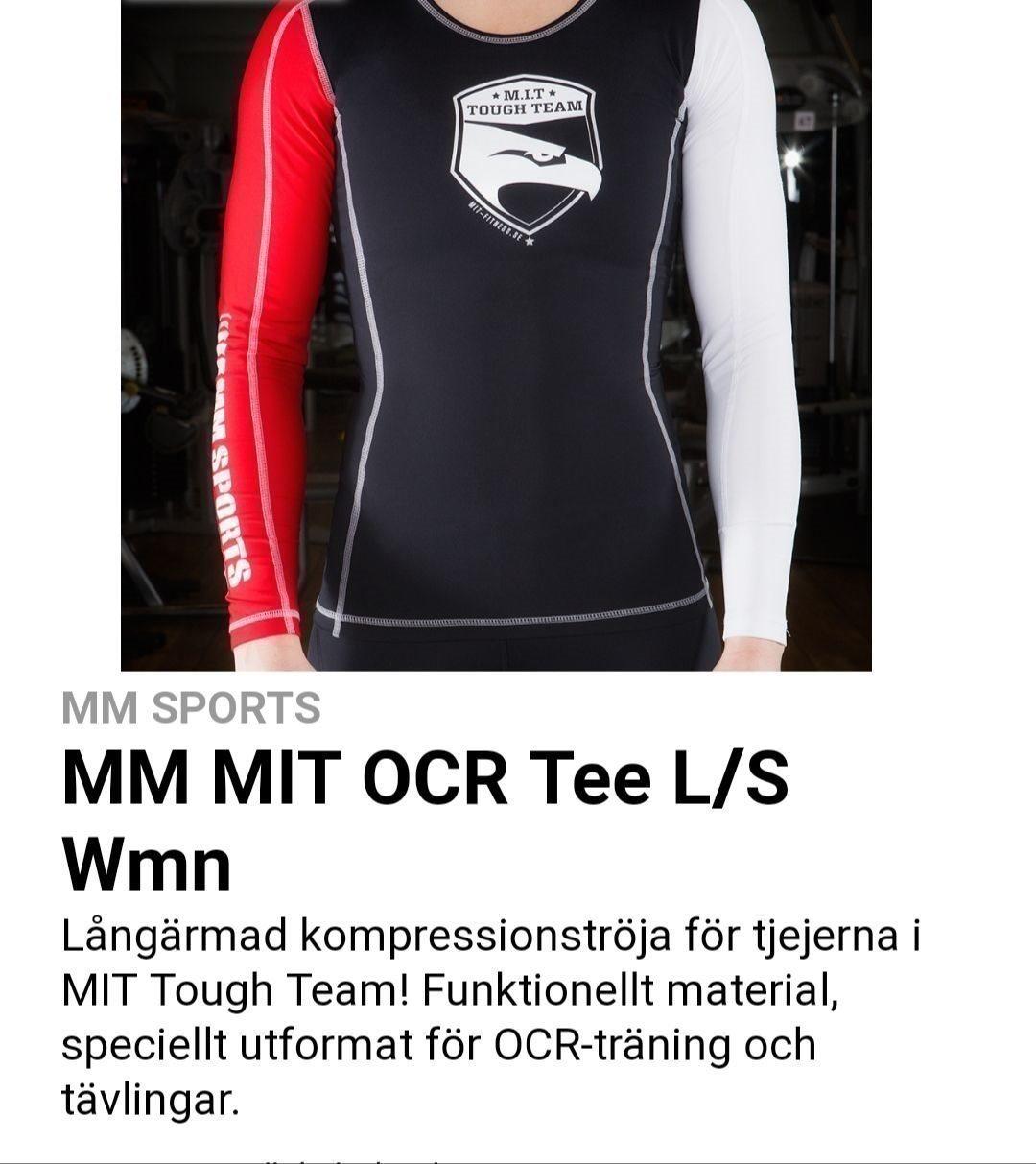 mm sports tröja