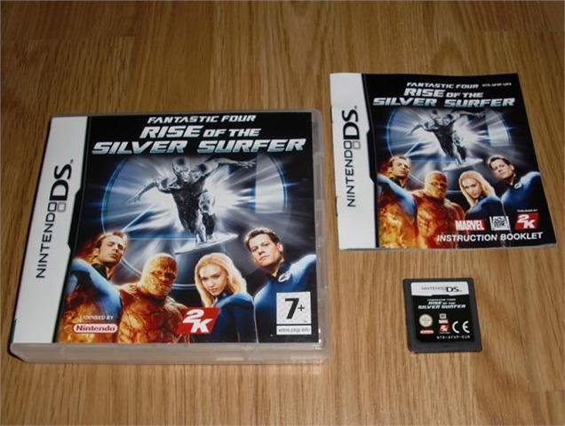 DS: Fantastic Four Rise of the Silver Surfer