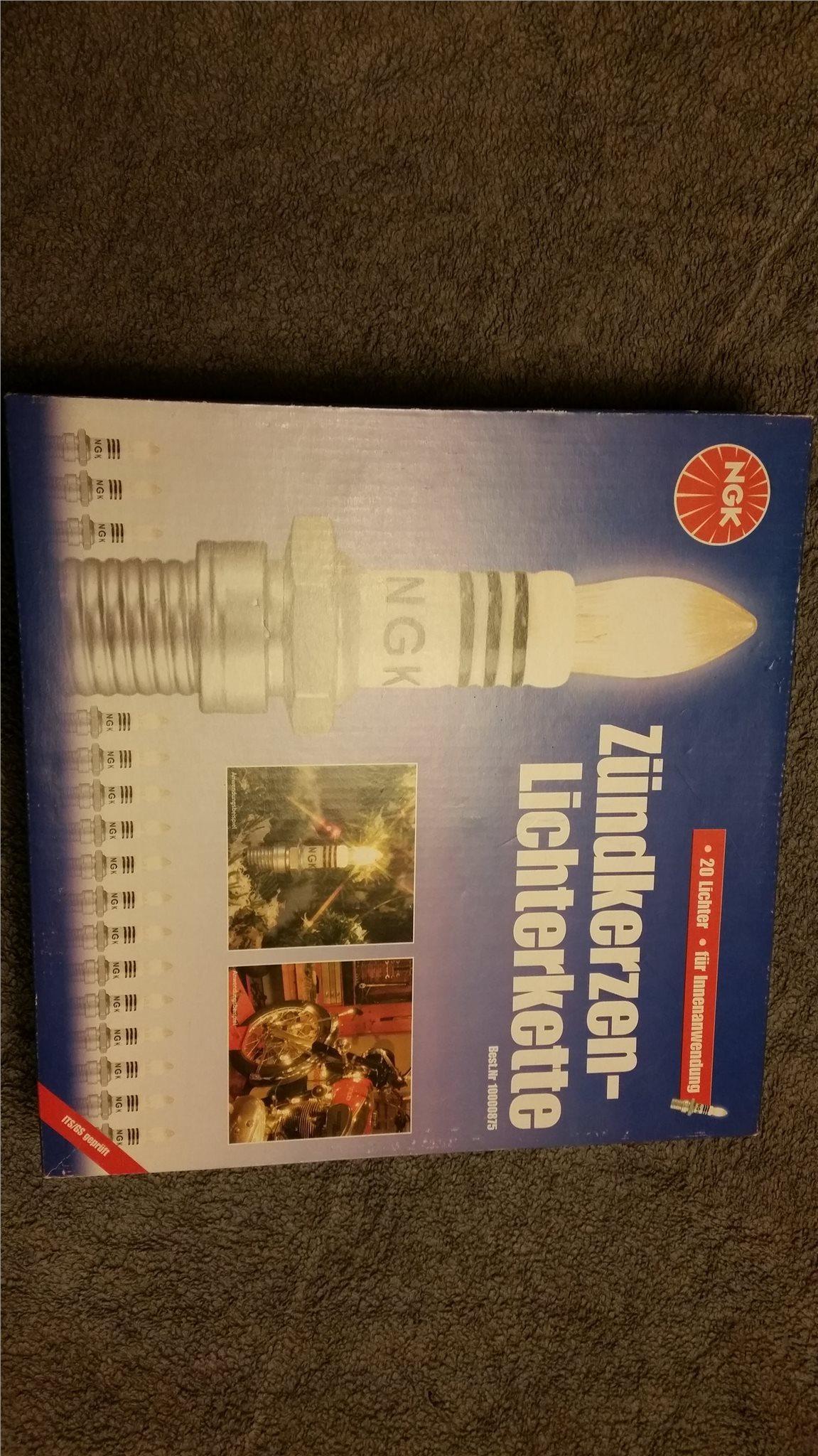 Julgransbelysning NGK tändstift a438fe533b504