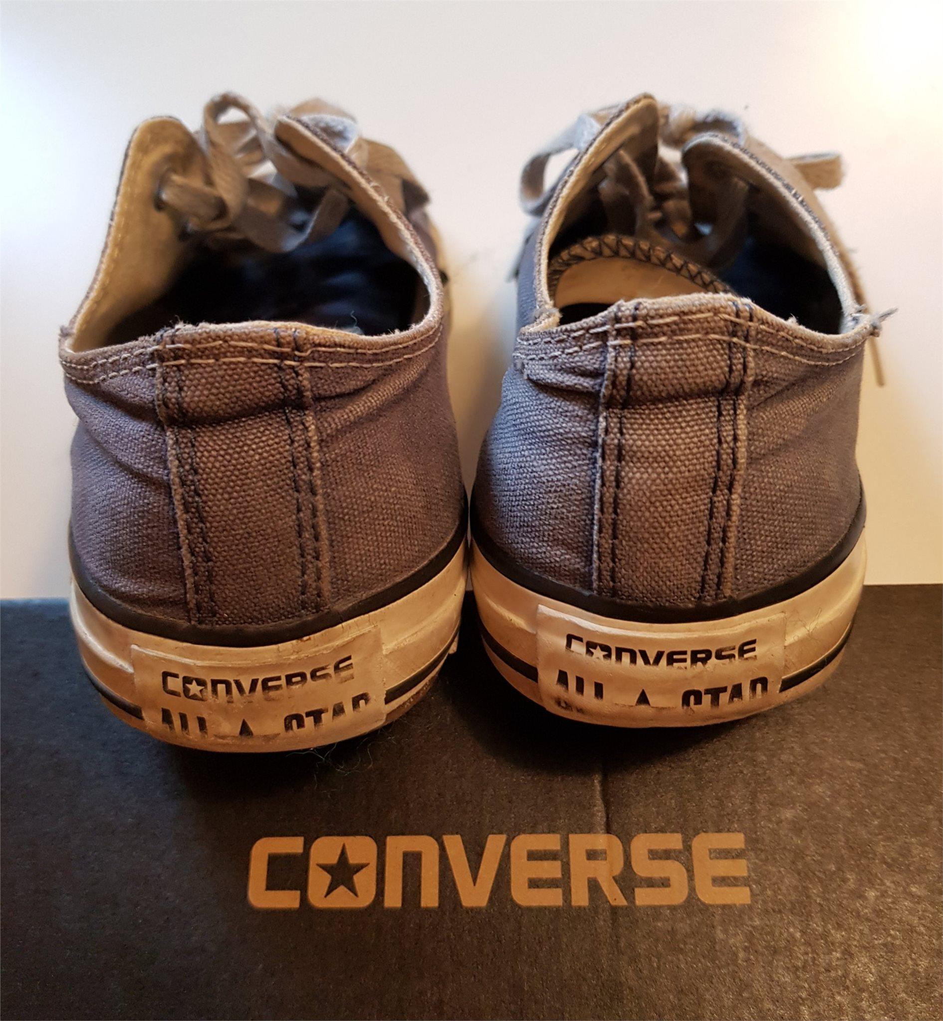 7bf0d017168 Converse All Star OX Navy M9697C Blå Storlek 39,5 Unisex (Mens 6.5 Womens