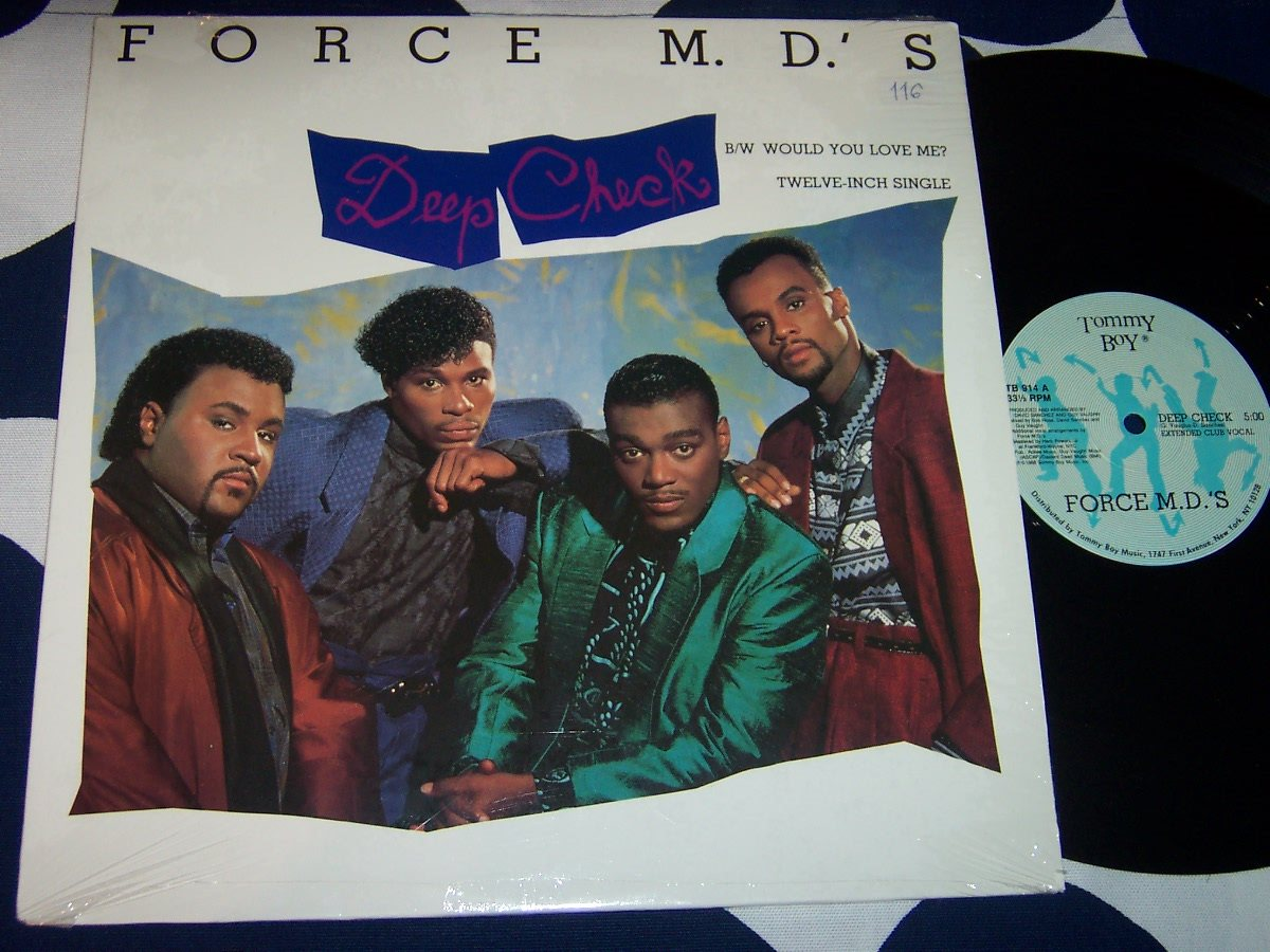 "FORCE M.D.S - DEEP CHECK 12"" 1988"