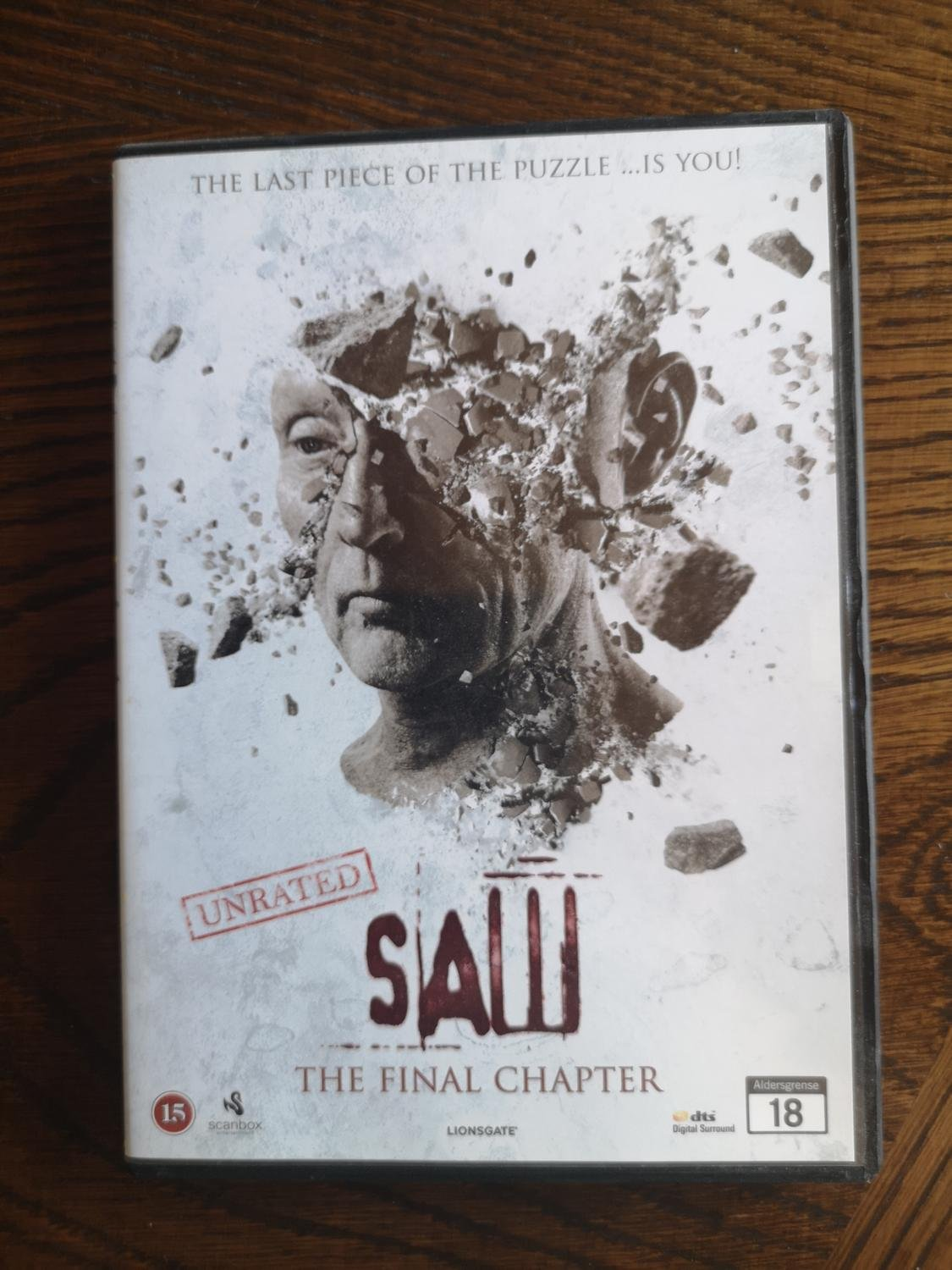 DVD SAW 7 THE FINAL CHAPTER