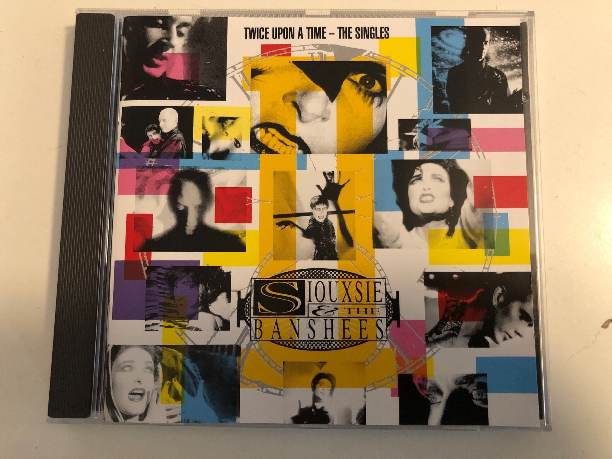 SIOUXSIE and the BANSHEES - Twice Upon A Time - The Singles , The Cure, Bauhaus
