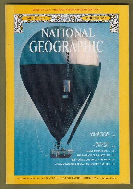 National Geographic, February 1977.