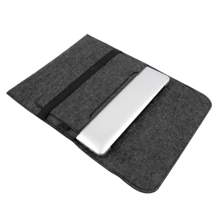 item  macbook air fodral sleeve filt ljusgra