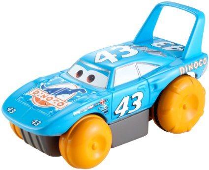 Disney Pixar Cars Bilar Mcqueen Plast Hydro Bad Flyter Kungen 43 Pullback NY dc17f90241223