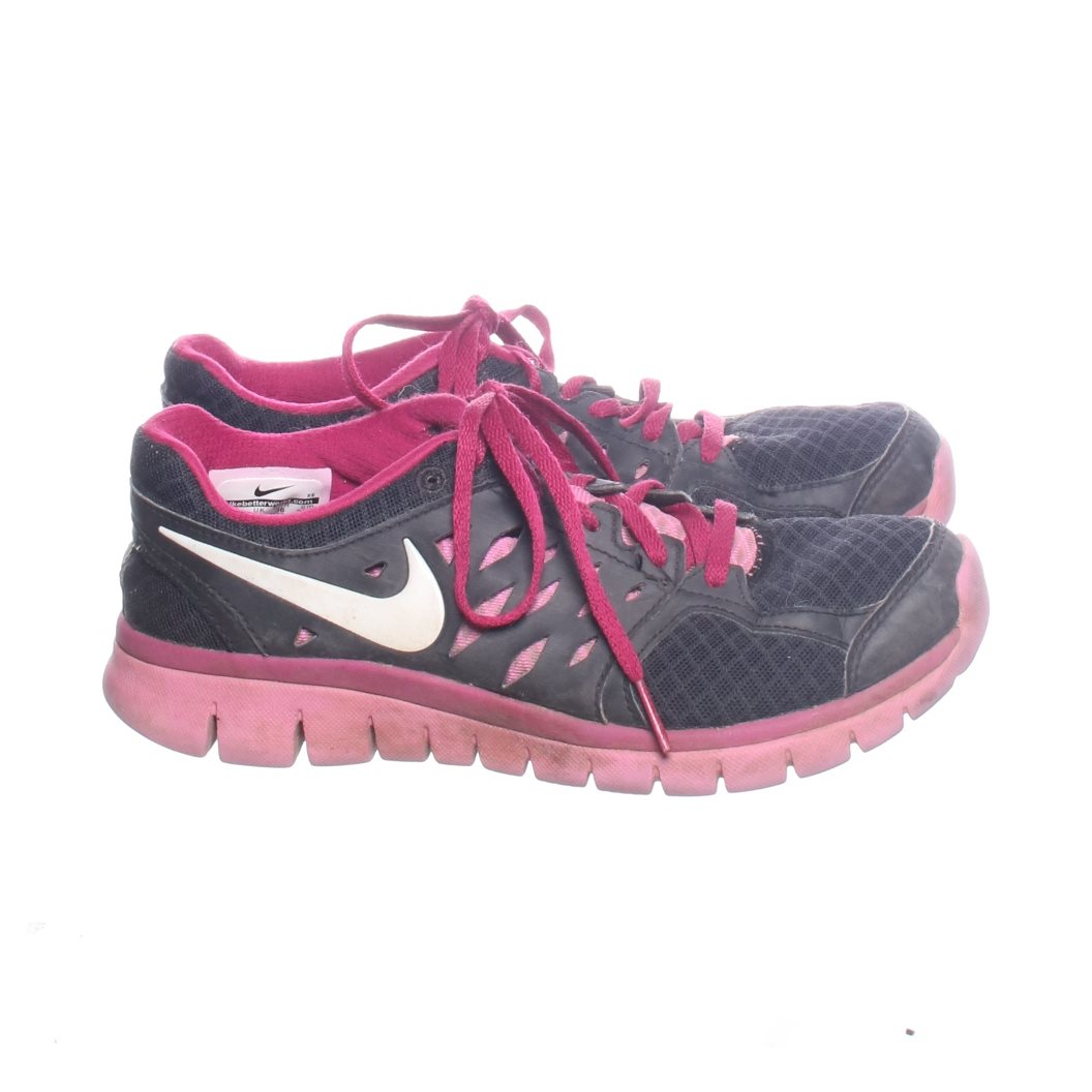 size 40 bbc2d 6cfab Nike, Sneakers, Strl  36, Flex run, Rosa Grå