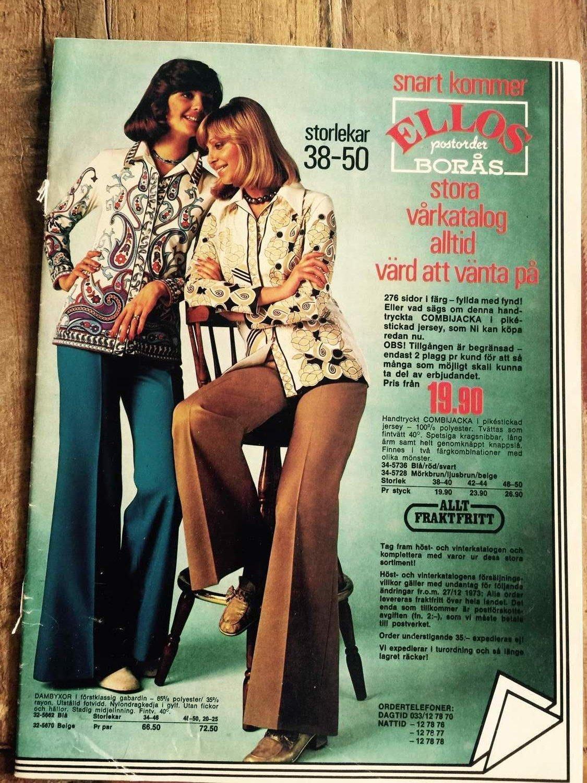 405518f587bb Postorderbroschyr från Ellos 1973 (348439732) ᐈ Köp på Tradera
