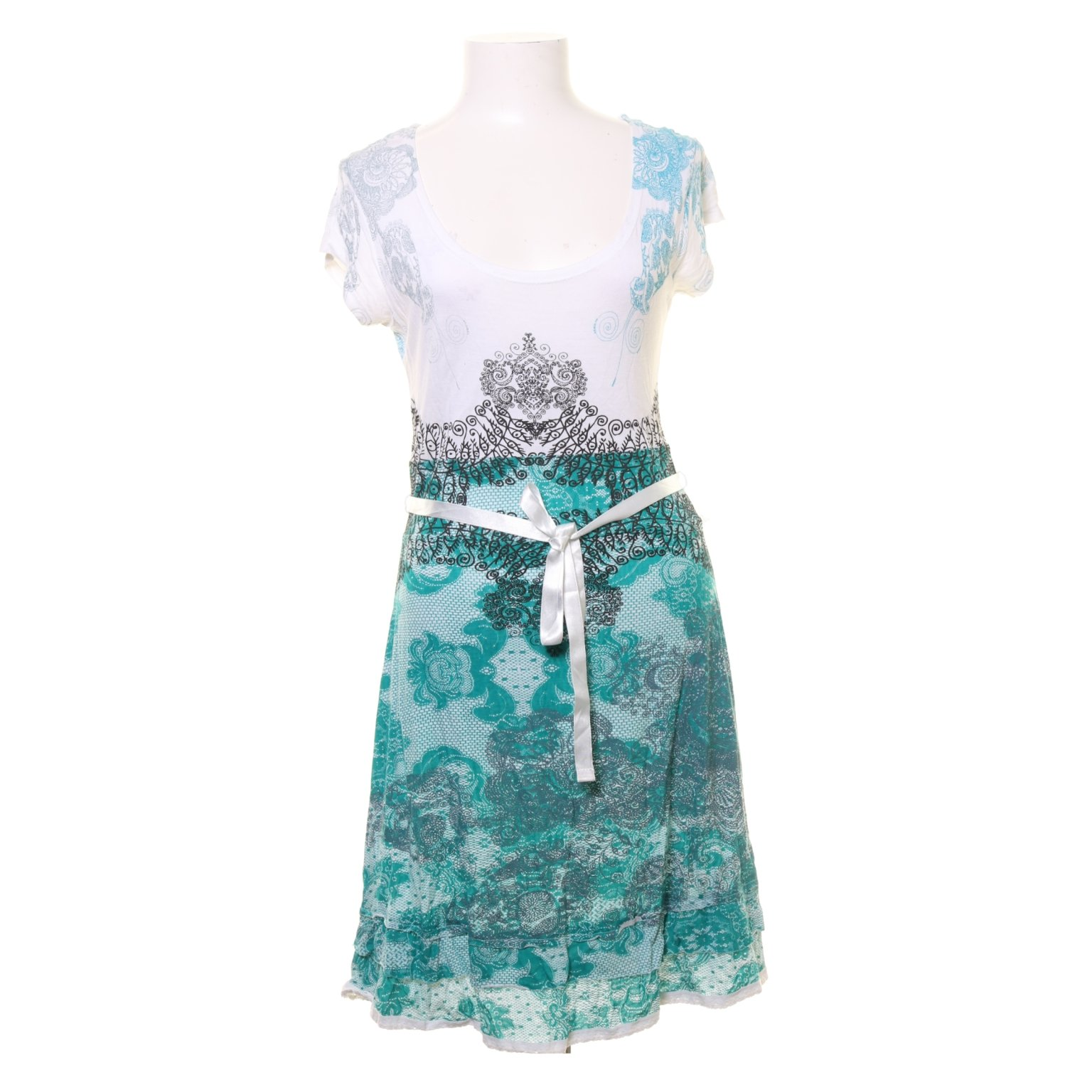 desigual vit klänning