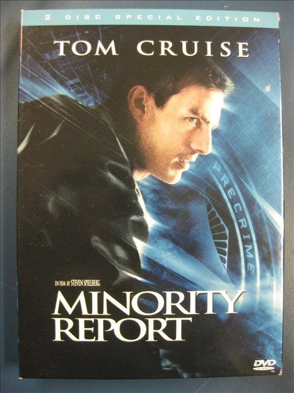 MINORITY REPORT - TOM CRUISE  -  2 DISC SPECIAL EDITION
