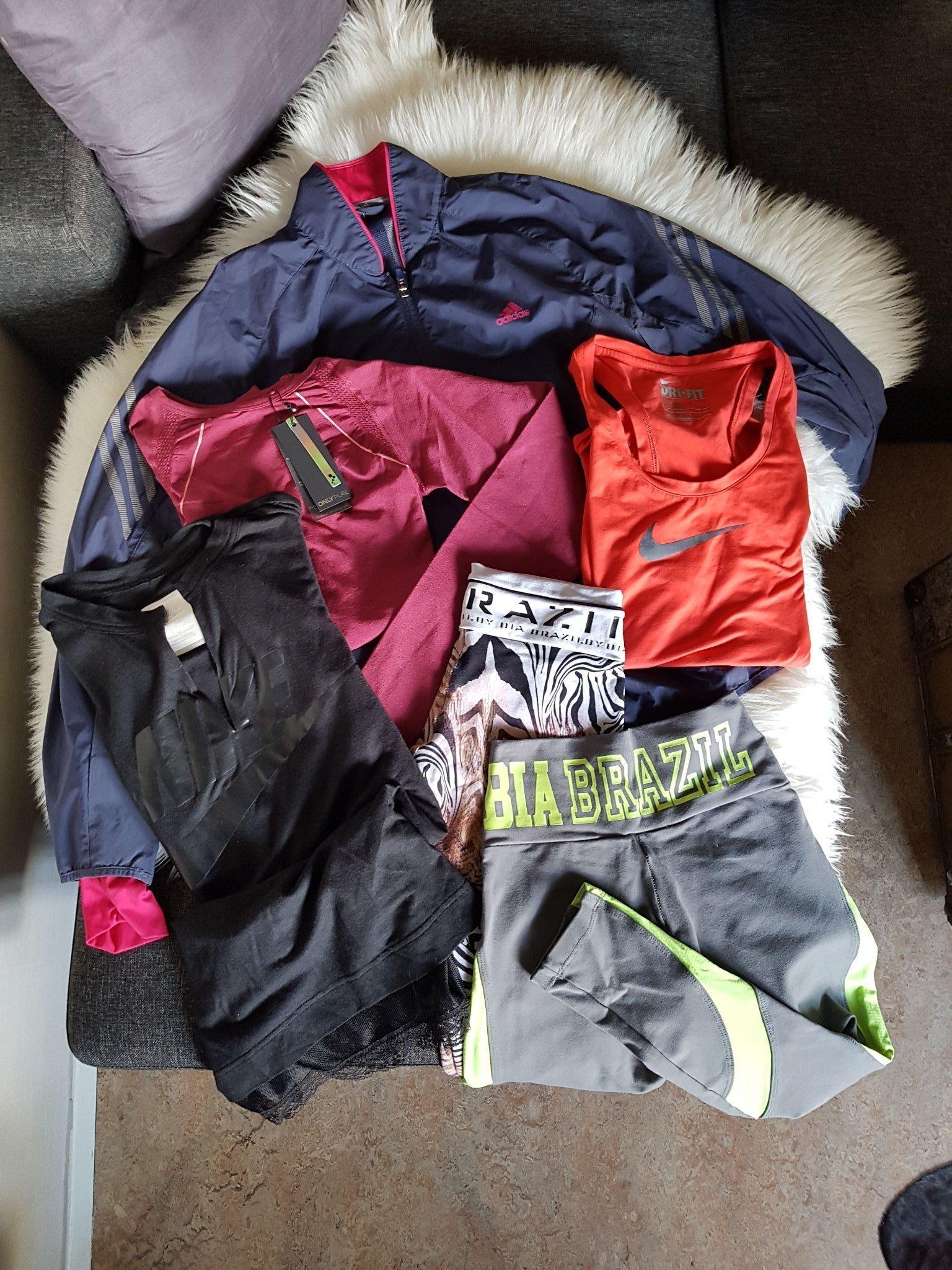 nyanlända höstskor utloppsbutik Nike adidas bia brazil linne tights gym fitness.. (351537897) ᐈ ...