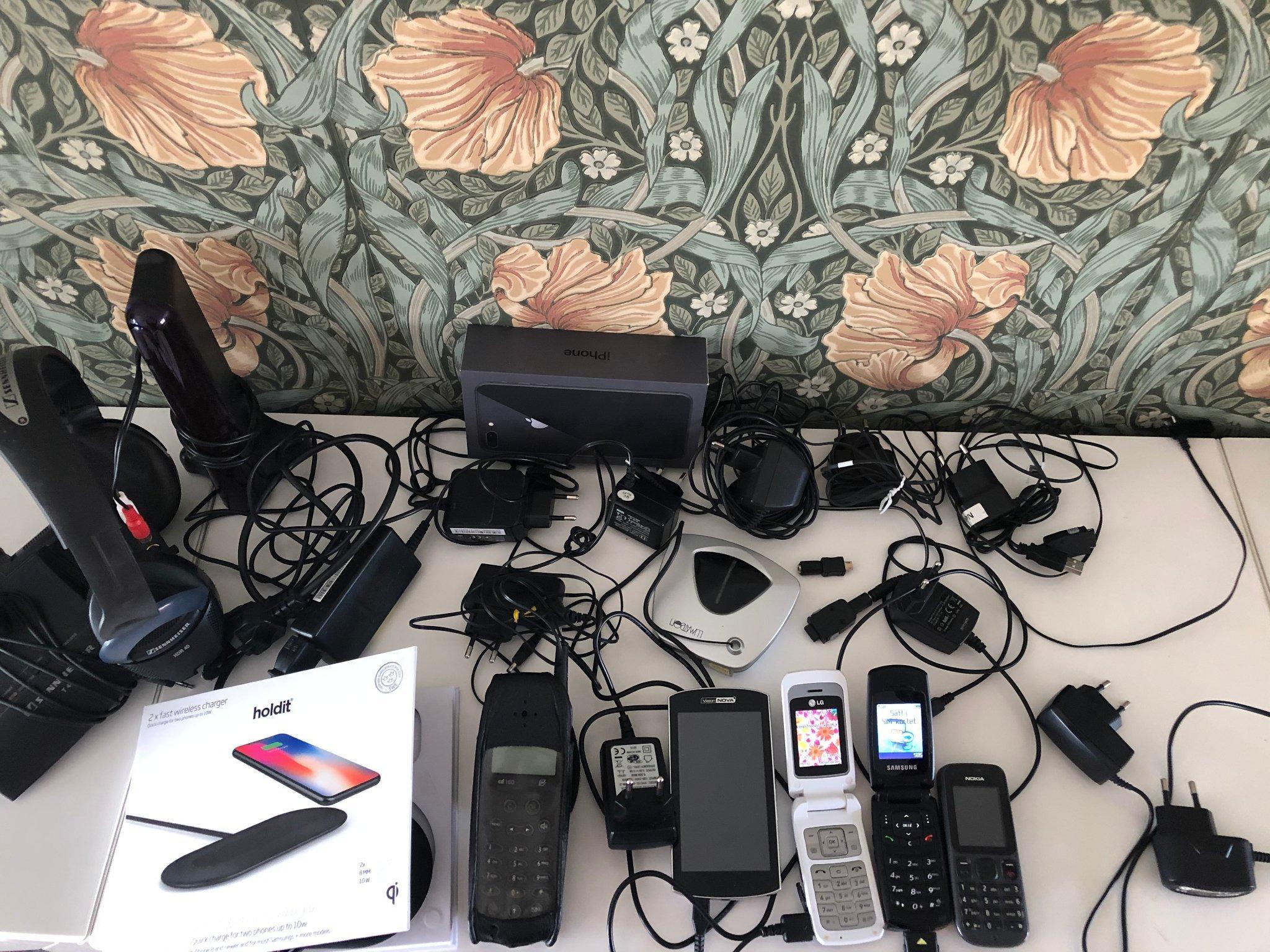 Divers telefoner , Vision Nova, Laddare , adapter , Samsung , Nokian , LG