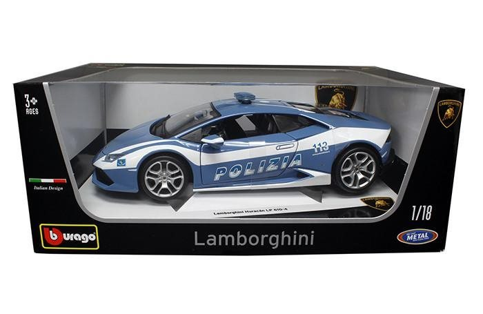 Lamborghini blir polisbil