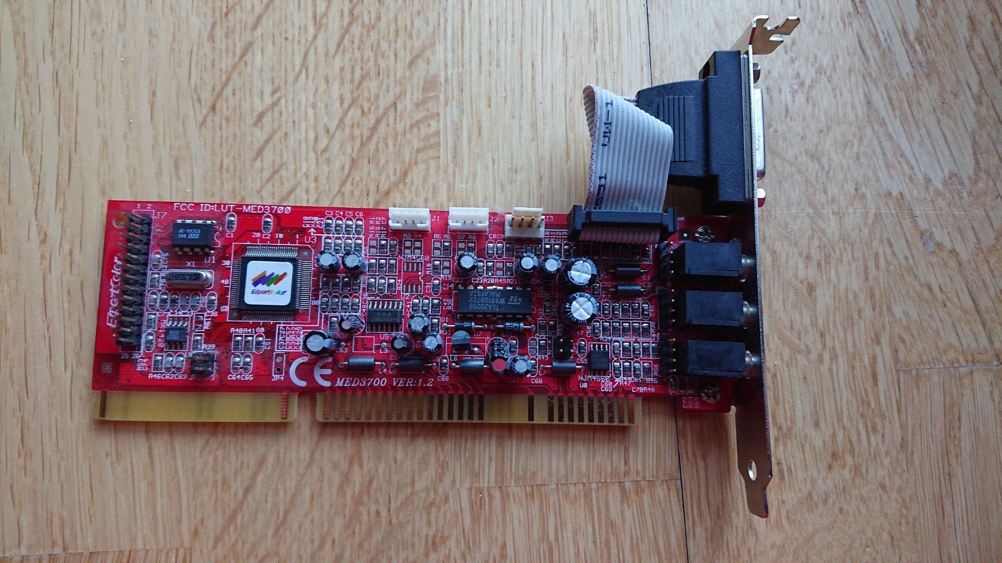Rare Vintage ISA Sound Card OPL3 for DOS gaming   (345843014) ᐈ Köp