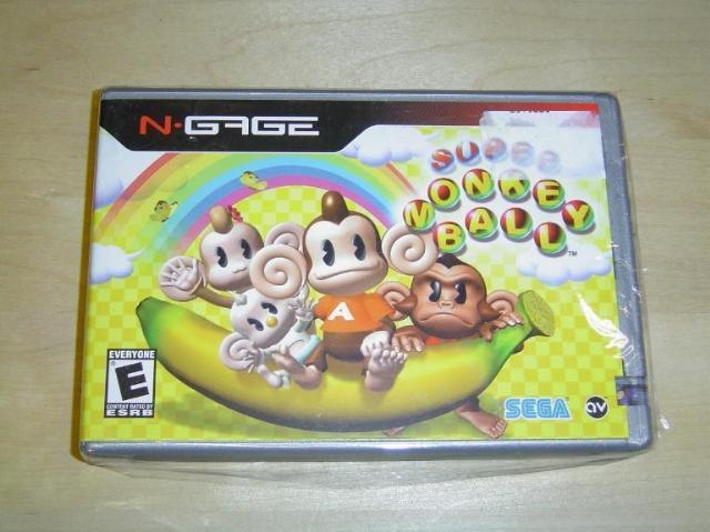 SUPER MONKEY BALL NOKIA N-GAGE *NYTT*