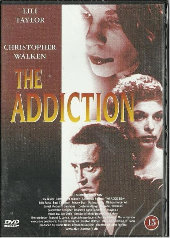 THE ADDICTION -CHRISTOPHER WALK(DANSKT TEXT -INPLASTAT DVD)