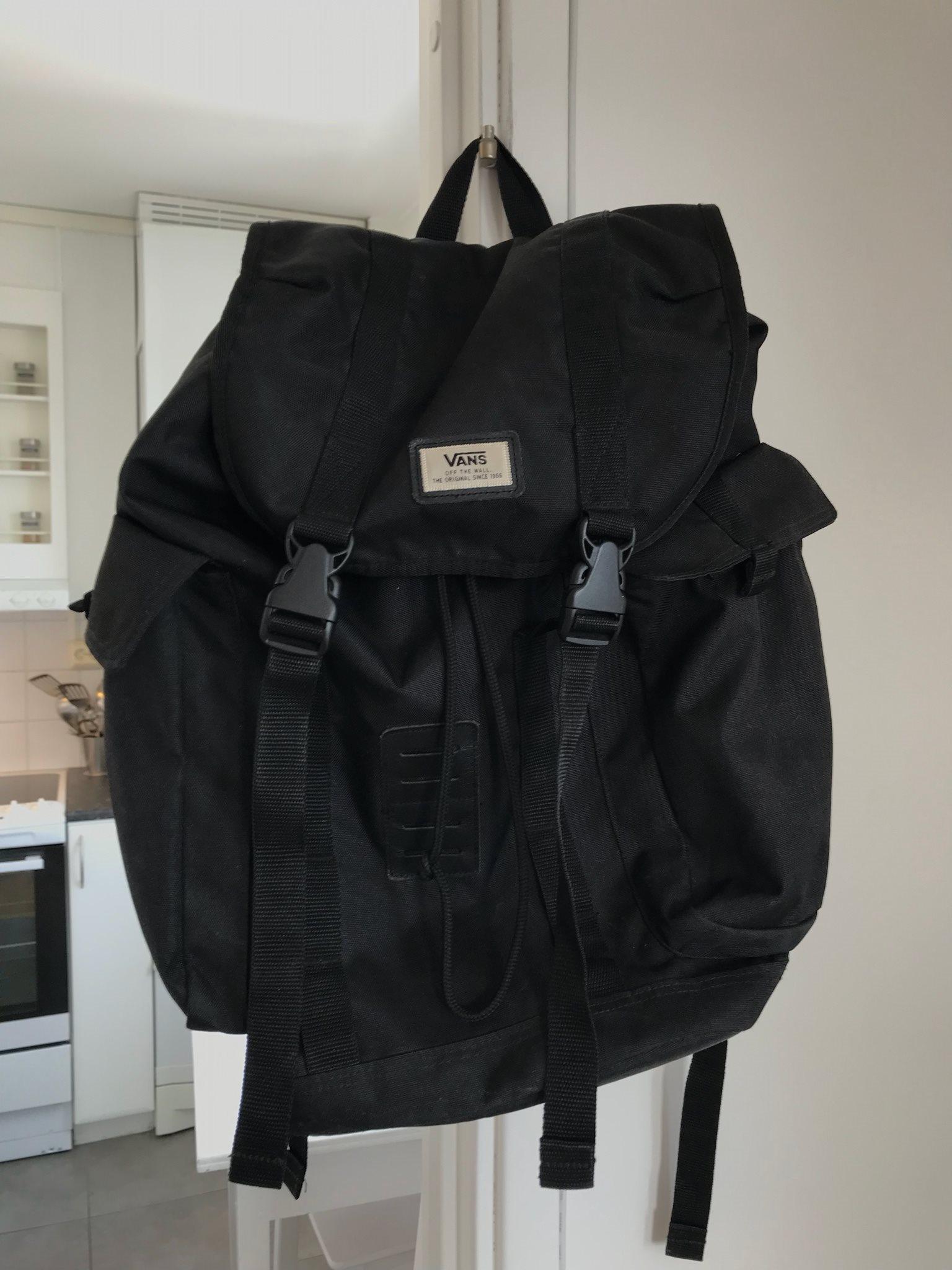 vans väska svart