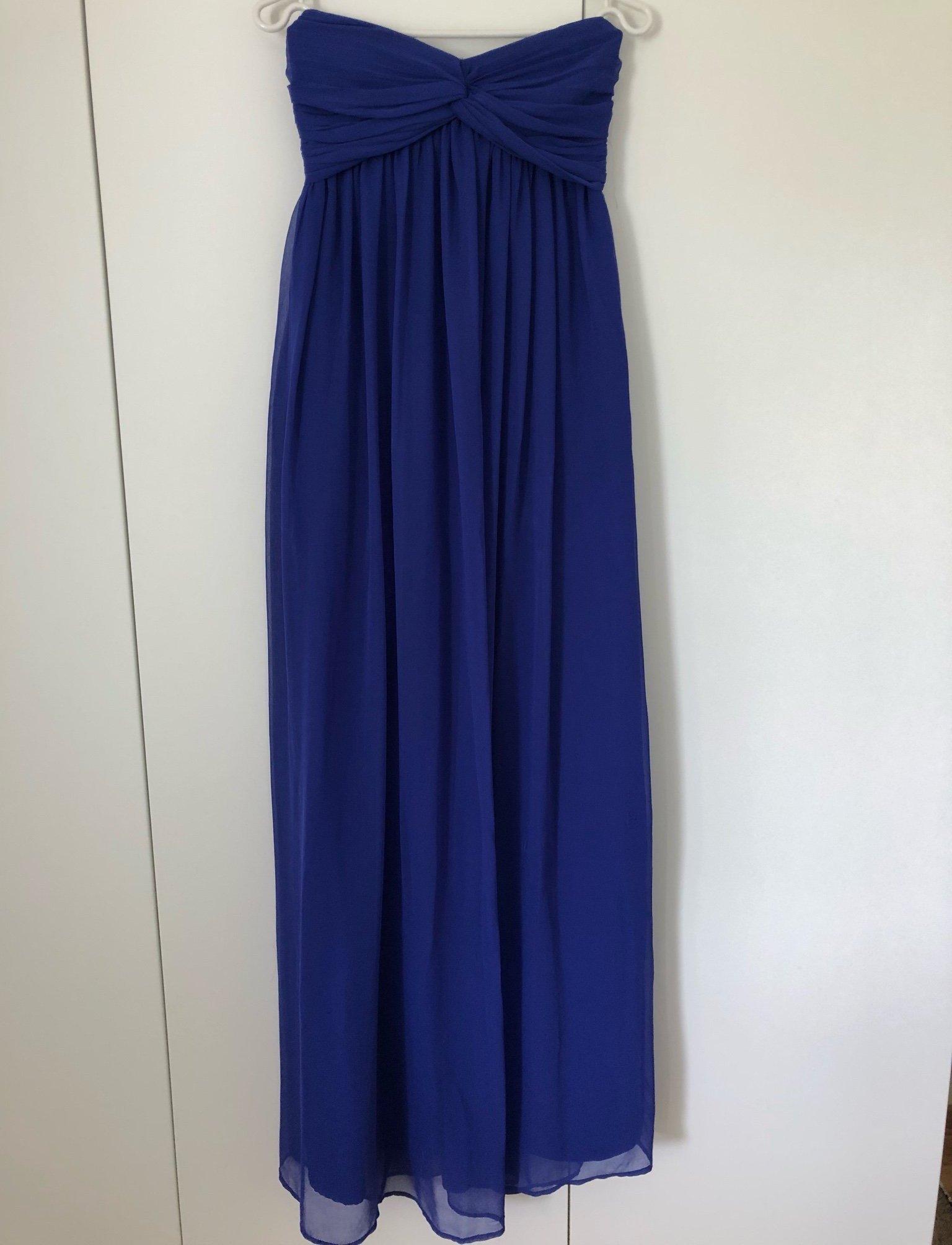 e0dabae92f15 Blå långklänning Nelly Trend XS (351299884) ᐈ Köp på Tradera