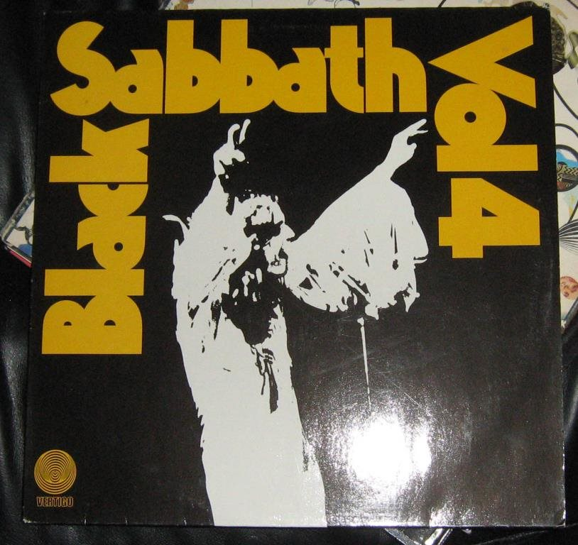 "black sabbath LP ""vol4 ozzy related"
