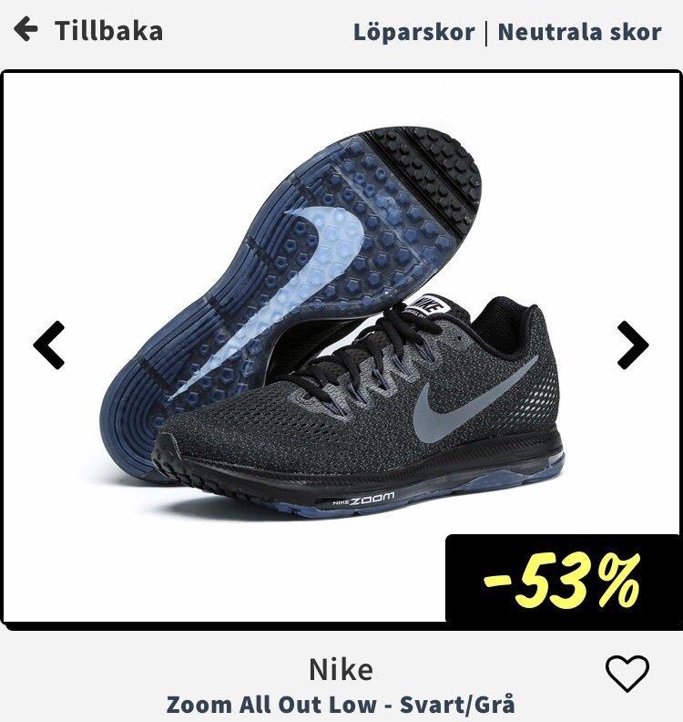 online store 71ffb f5a90 Nike Zoom All Out Low löparskor skor 39