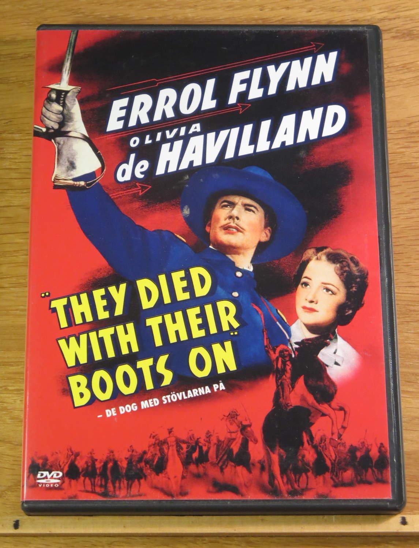 De dog med stövlarna på Errol Flynn They died w.. (377974545
