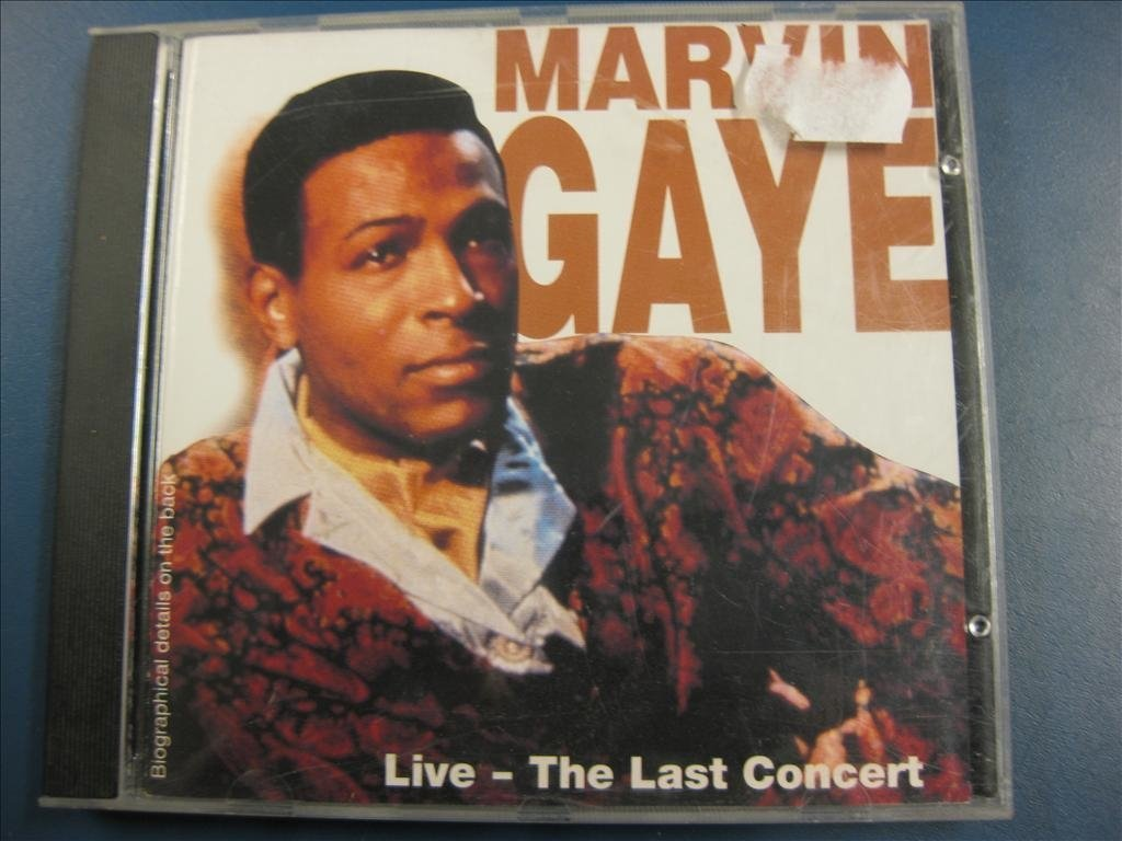 MARVIN GAYE - THE LAST CONCERT