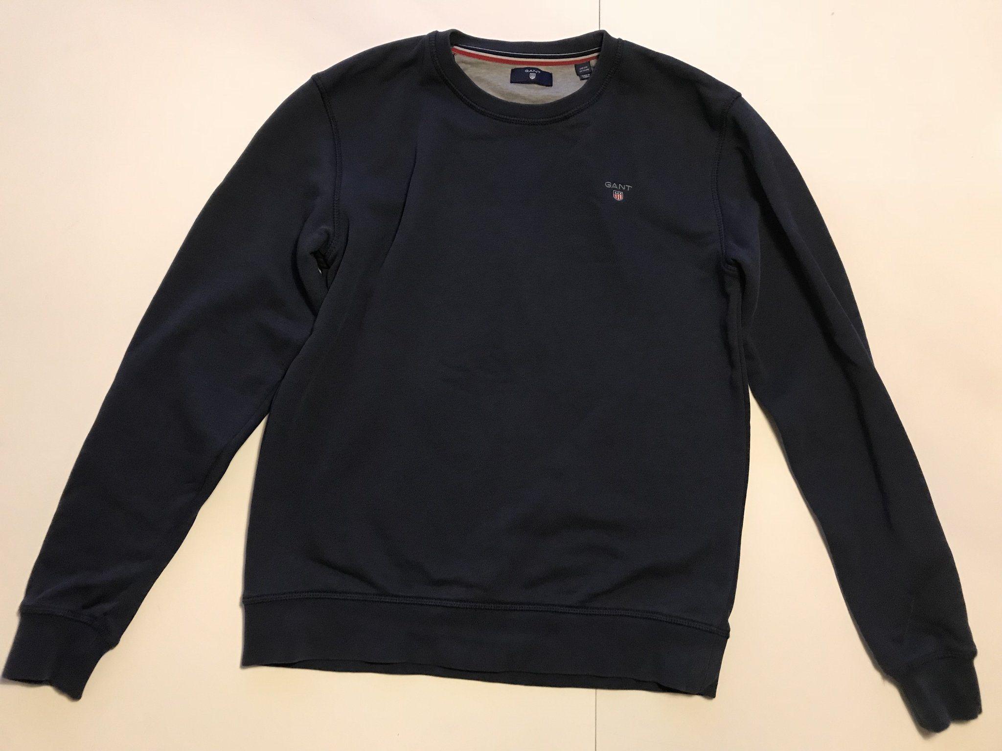marinblå gant tröja