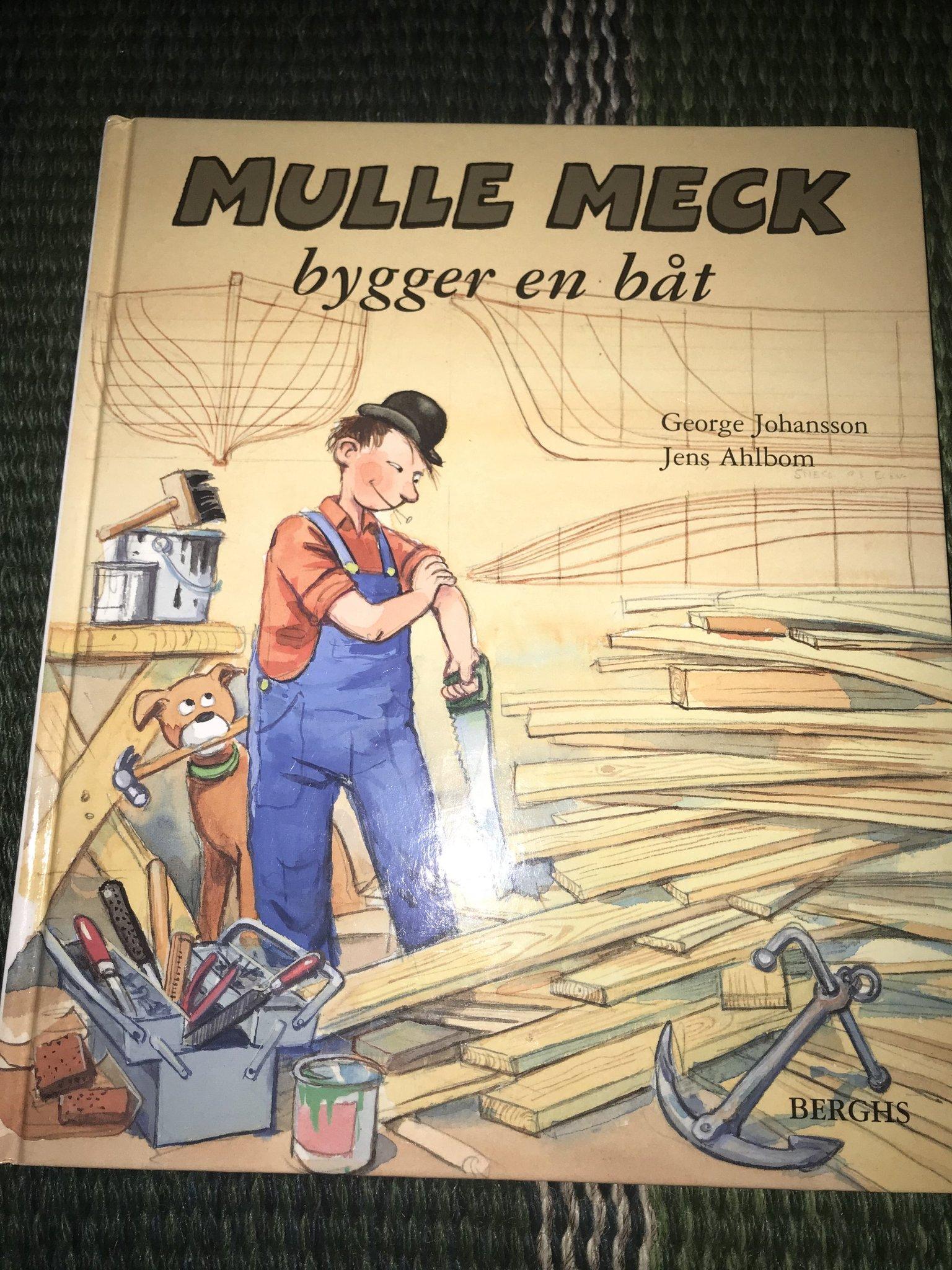 Mulle Meck Bygger En Bat George Johansson Ber 361196138