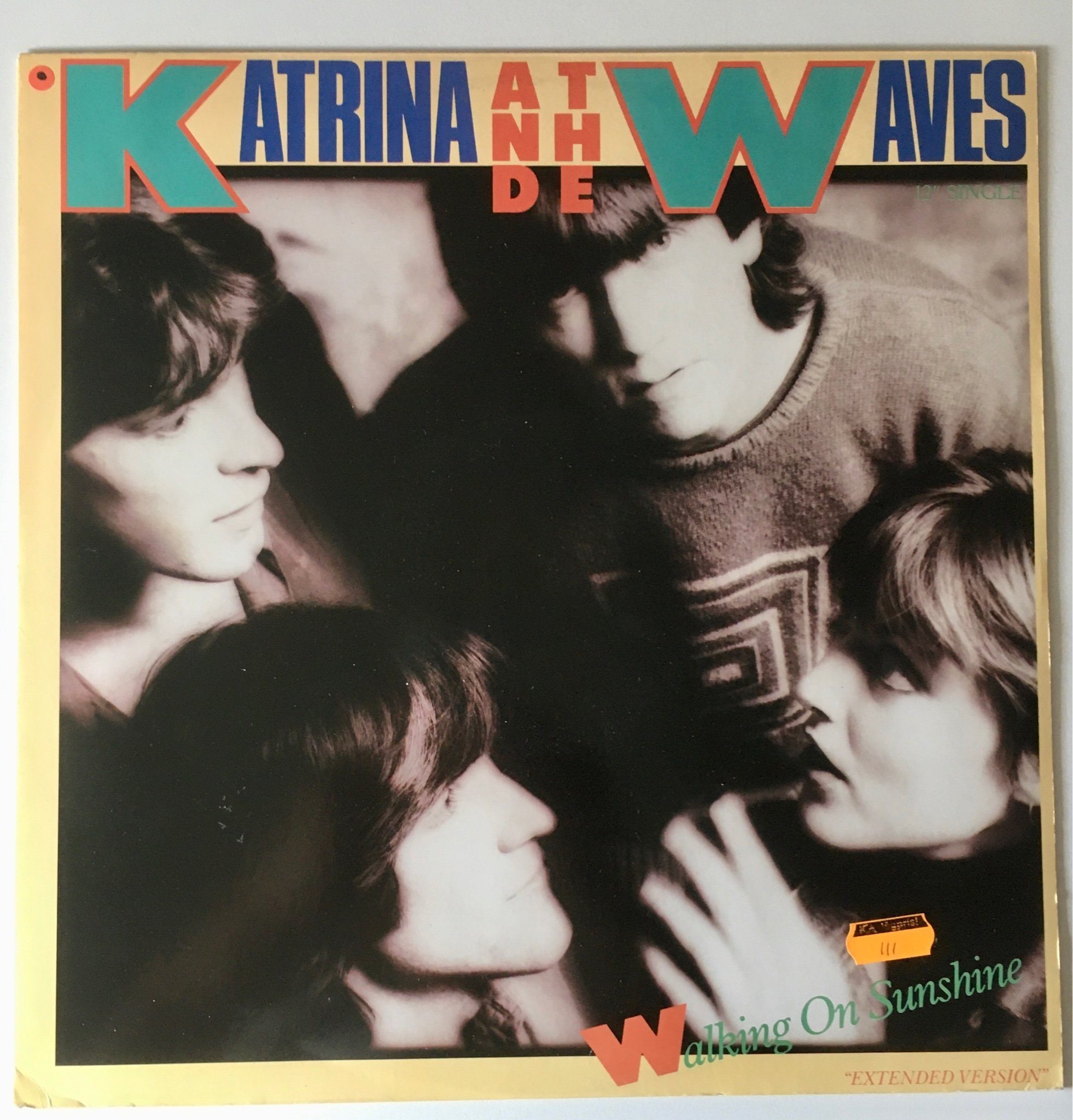 "KATRINA AND THE WAVES - WALKING ON SUNSHINE 12"" maxi (Rare) Dj 80 tal"