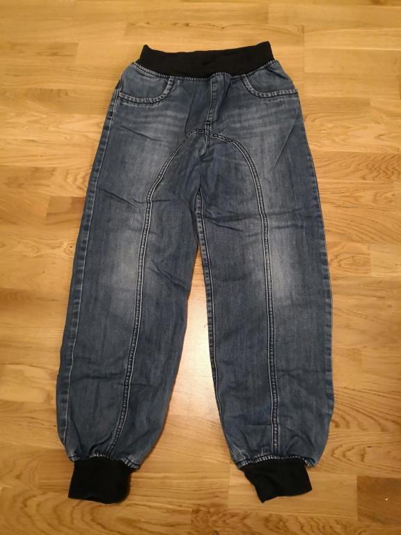 Snygga blåa fodrade mudd jeans fr Nova Star stl.. (328084090) ᐈ Köp ... a13512655d4d3
