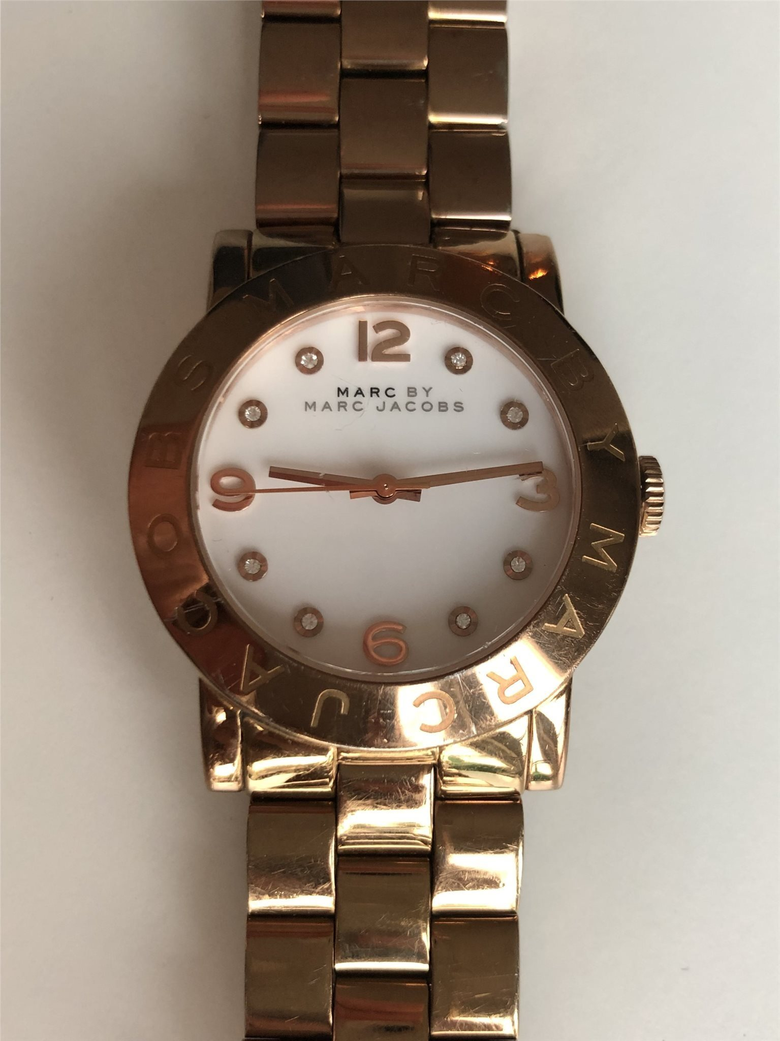 MARC BY MARC JACOBS damklocka i roseguld Ø36mm .. (342239821) ᐈ Köp ... 91f8dd5679c0a