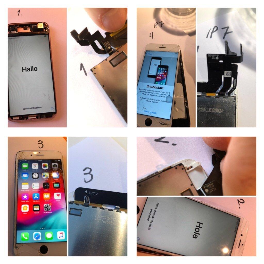 Original iPhone skärmar / lcd / display / Origi   (356913626