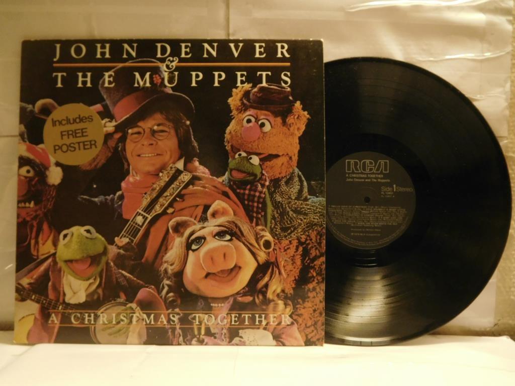 JOHN DENVER & THE MUPPETS - A CHRISTMA.. (329064390) ᐈ roadhouze på ...