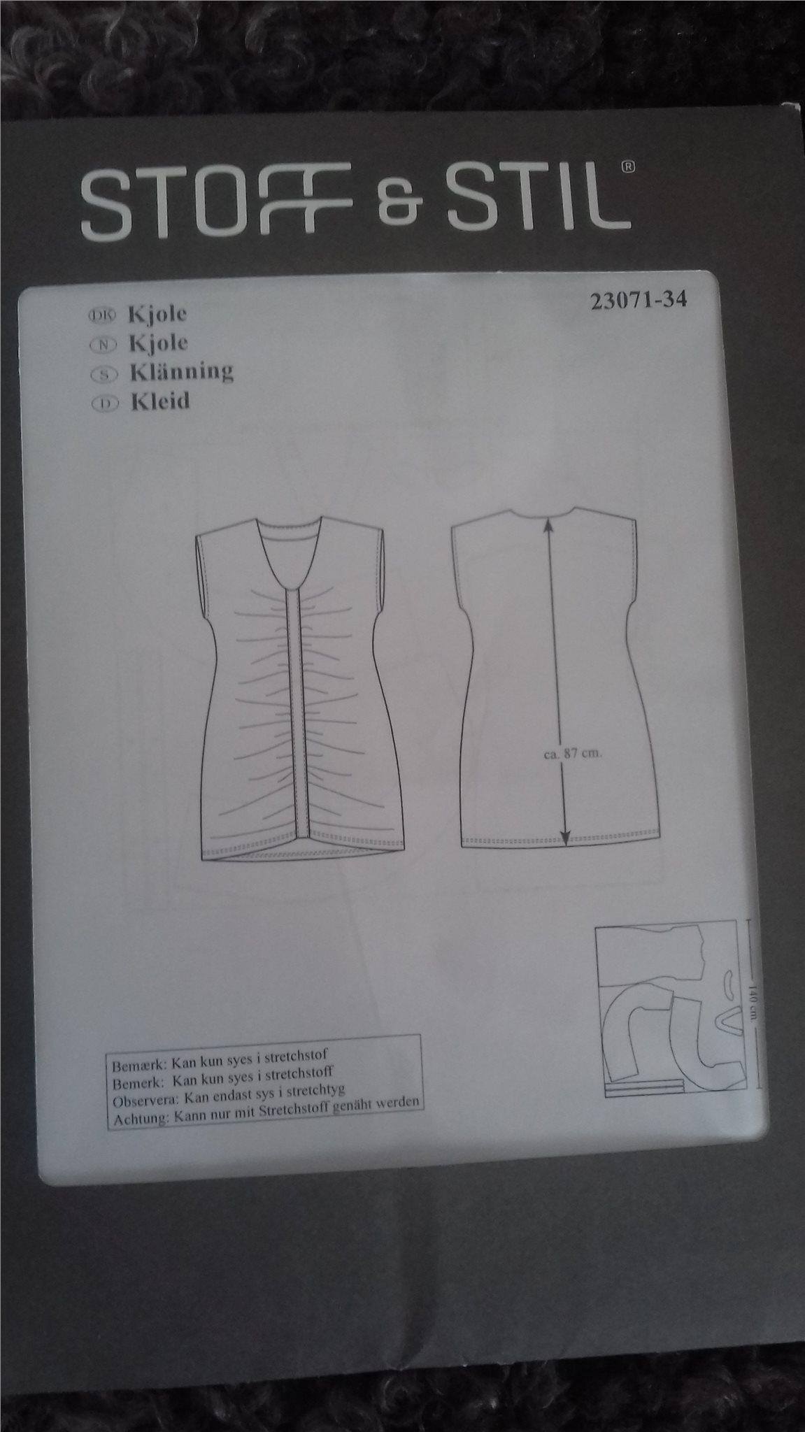 e87c29ba922d Klädmönster från Stoff o stil (348698073) ᐈ Köp på Tradera