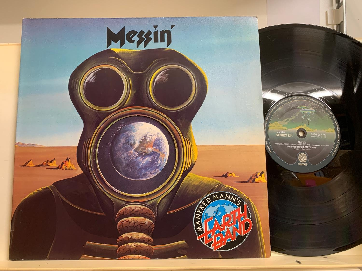 MANFRED MANN'S EARTH BAND - MESSIN' - 6360087
