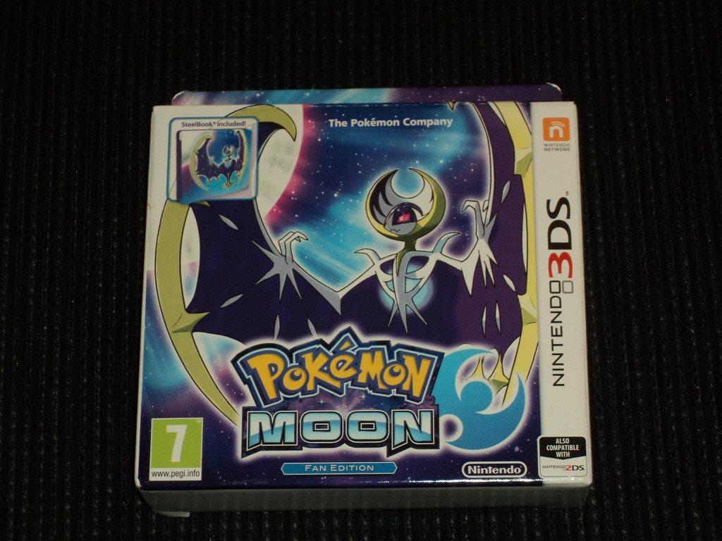 3ds Pokemon Moon Fan Edition Inplastat 329516175 Widdex G P