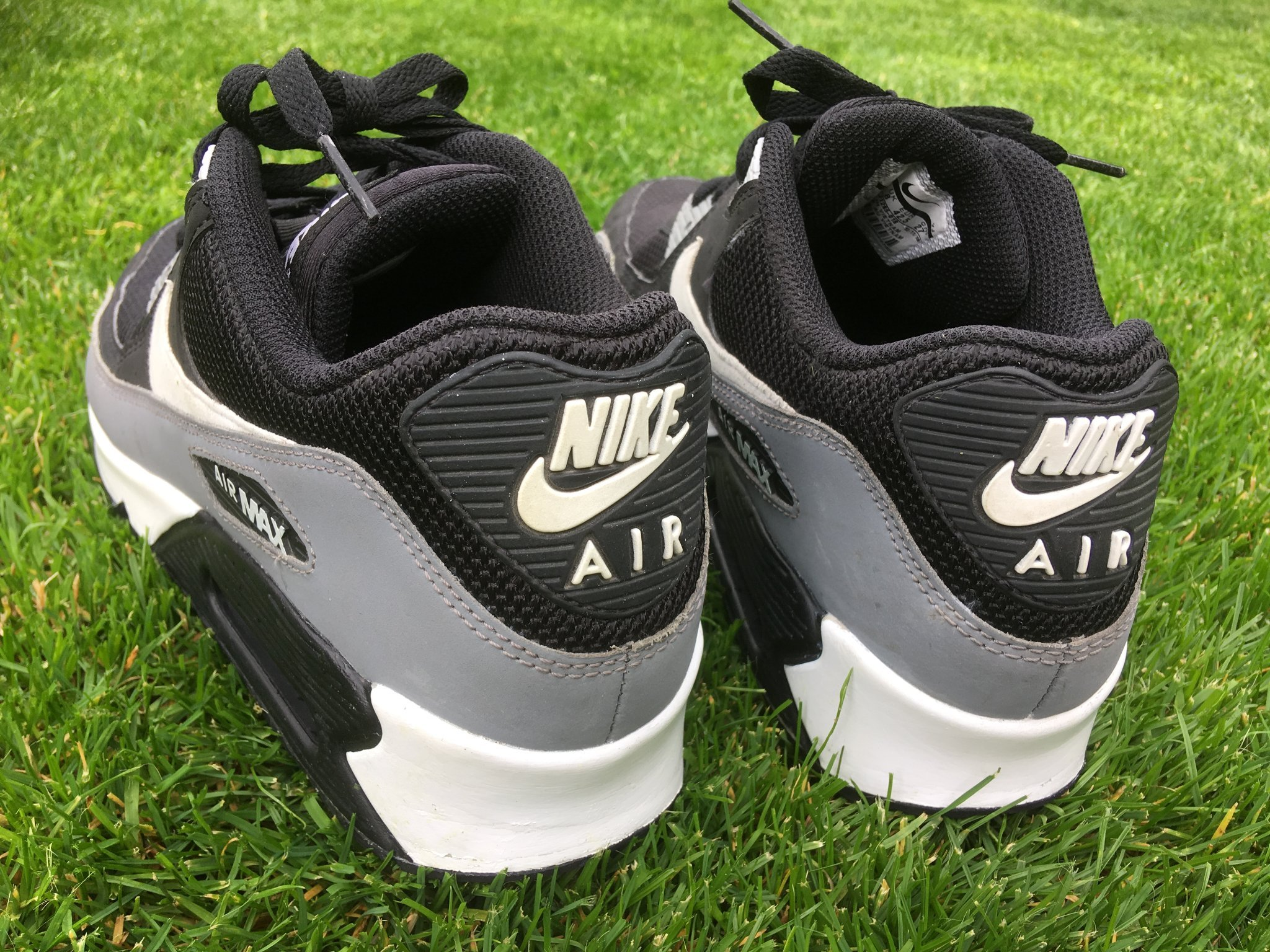 Nike Air Max 90 Essential Blackwhite cool Grey (357801547