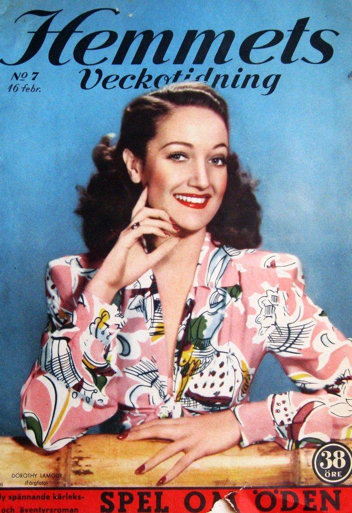 H-V 1951-7 Dorothy Lamour..Chapmans Skärva Slott..Gene Kelly