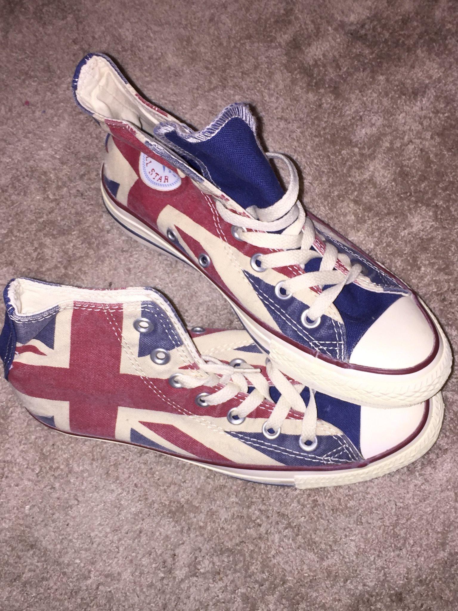 buy online dadf5 1e1da HELT NYA! Converse Chuck Taylor All Star Union Jack, storlek 37
