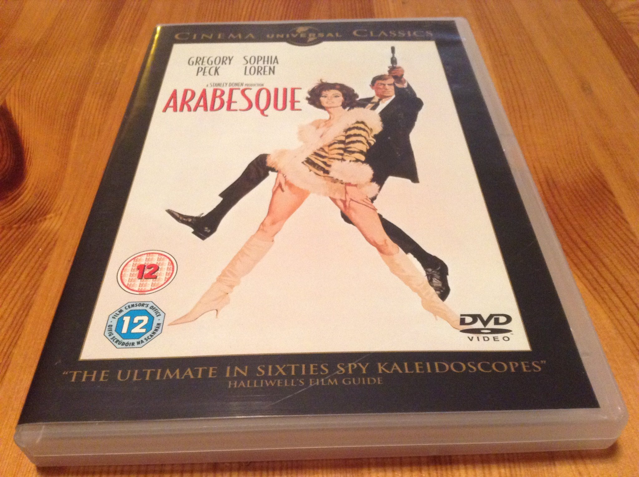 Arabesque - Gregory Peck, Sophia Loren - Repfri - Svensk text - DVD