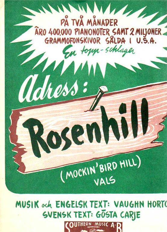 adress rosenhill