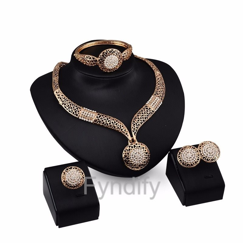 Smycke Set Bling Oval