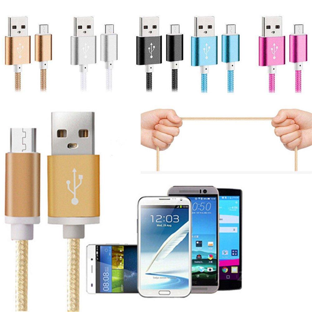 Bästa kvalitet 1 M Mikro USB Laddare till Samsung Sony Vit