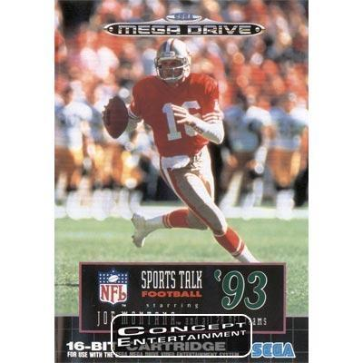 NFL SPORTS TALK FOOTBALL 93 STARRING JOE MONTANA (komplett) till Sega Mega Drive