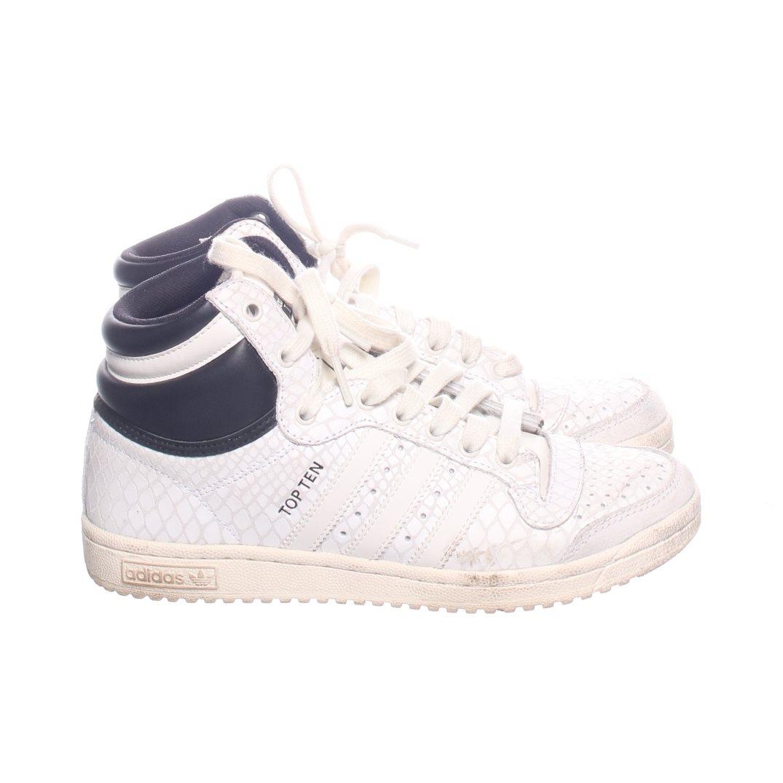 new product ff3b8 bc64b Adidas, Sneakers, Strl 38, SvartVit, Skinn
