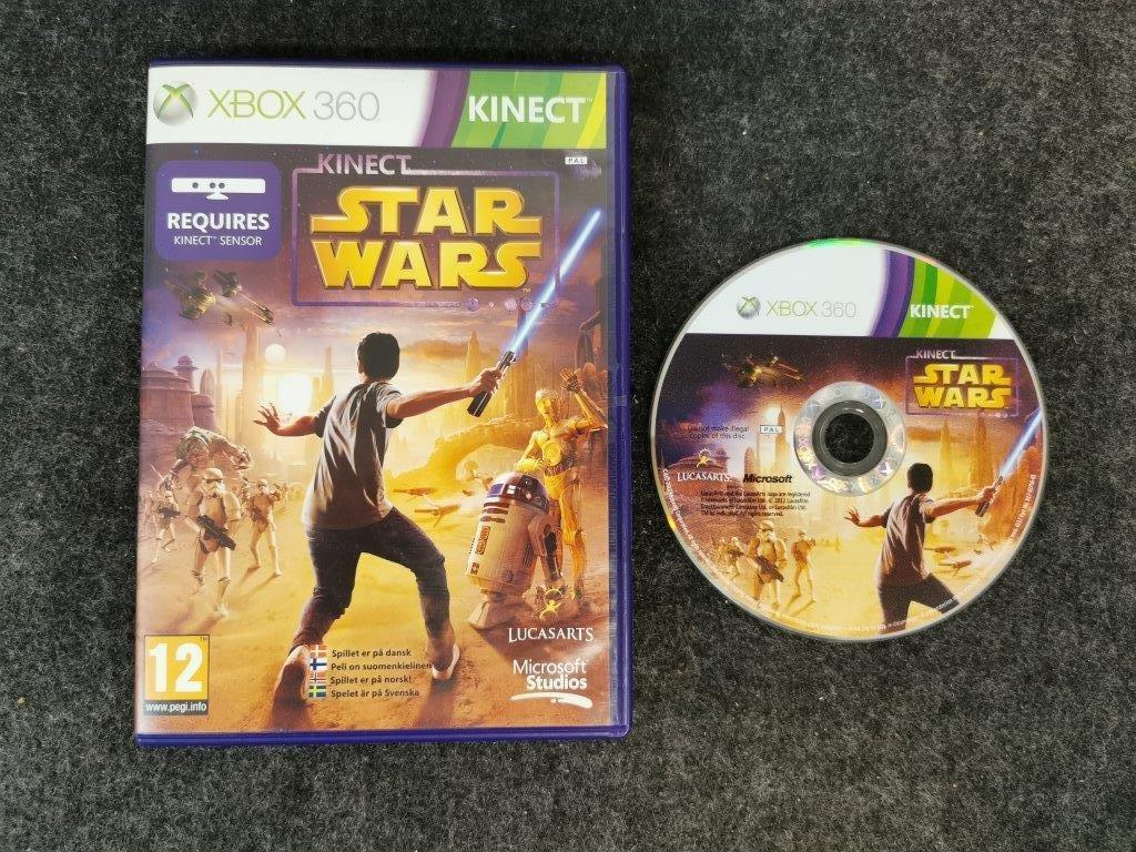 Kinect Star Wars Pal Xbox 360 405954273 Áˆ Niotek Store Pa Tradera